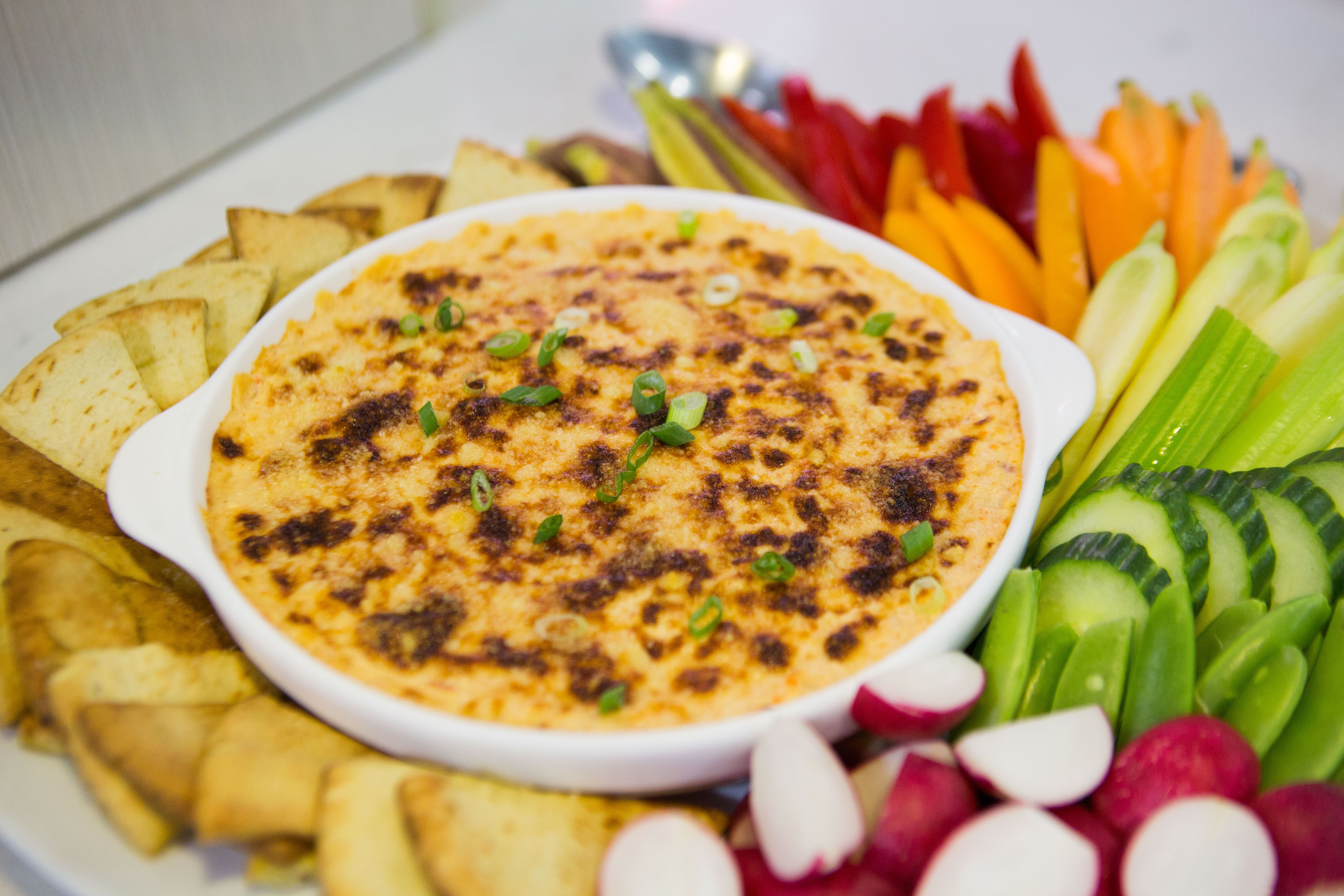 Hot Artichoke And Lobster Dip