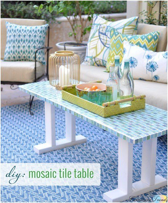 Diy mosaic table top ideas 3 do it yourself home edition diy mosaic table top ideas 3 solutioingenieria