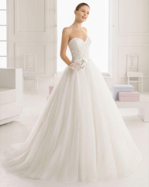 Braut schlank