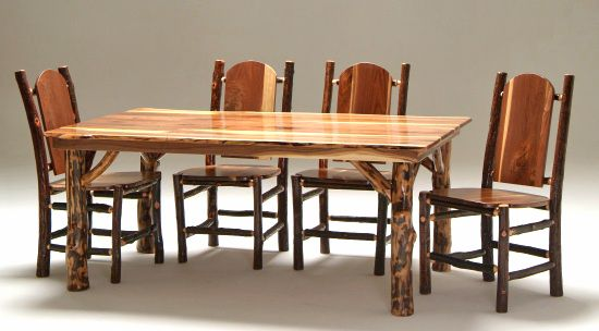 Black Walnut Farm Style Table