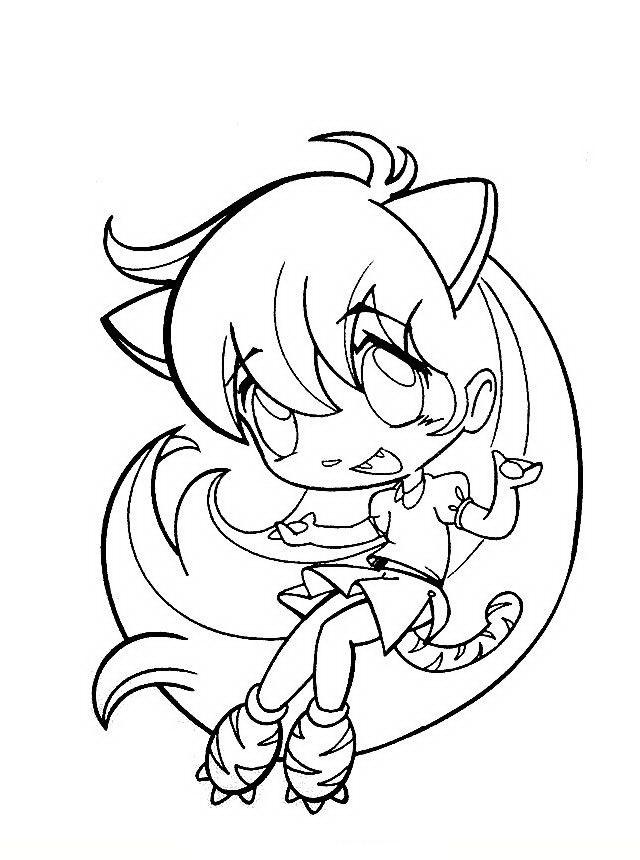 Manga Ausmalbilder Malvorlagen Zeichnung Druckbare Nº 18