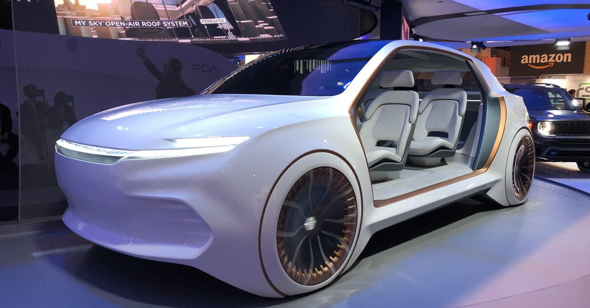 The Best Concept Cars Of Ces 2020 Sony Vision S Mercedes Avtr Digital Trends In 2020 Concept Cars Vintage Concept Car Interior Concept Cars