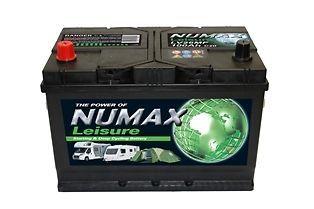2 (Pair) X 12V 100AH Deep Cycle Battery Numax LV26MF Leisure Caravan Marine Boat#batteriesontheweb