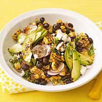 Anyone grilling this weekend? Try this recipe from @Every Day Rachael Ray: grilled corn & black bean salad.