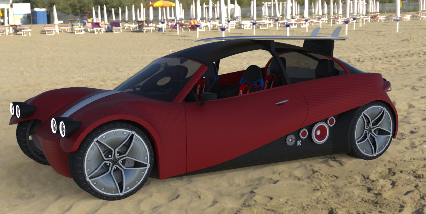 Customizable 3d printed car by Local Motors. Our new reality. Built ...