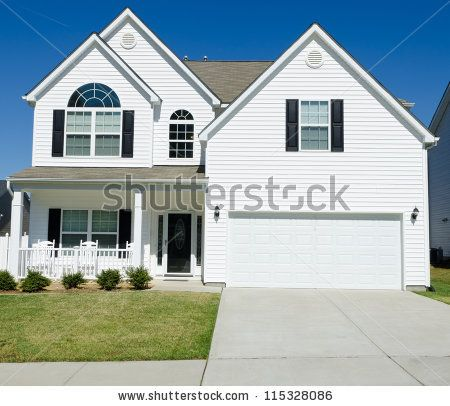 Image Result For White Vinyl Siding House