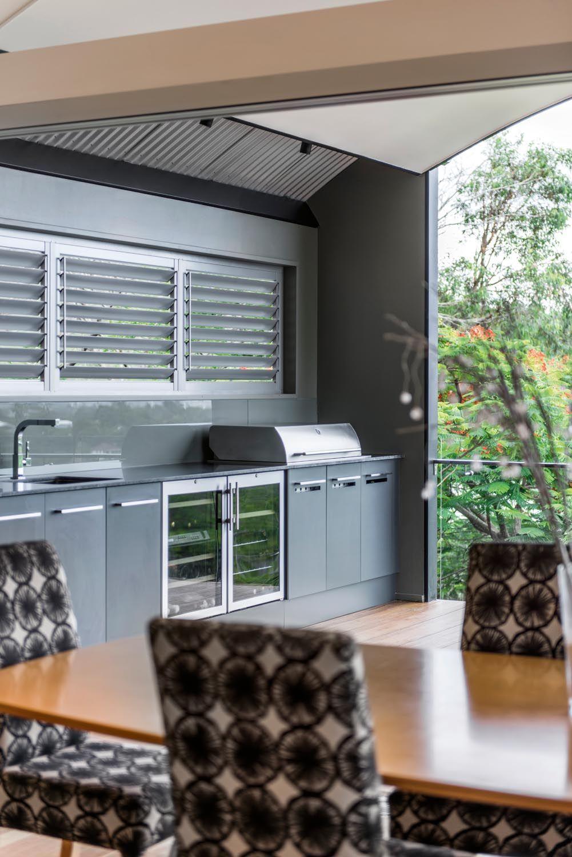 a stunning open plan kitchen design outdoor kitchen countertops outdoor kitchen design on outdoor kitchen plans layout id=15367