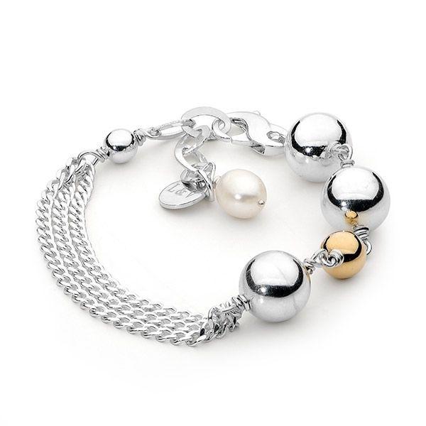 hardtofind. | Sterling silver ball bracelet