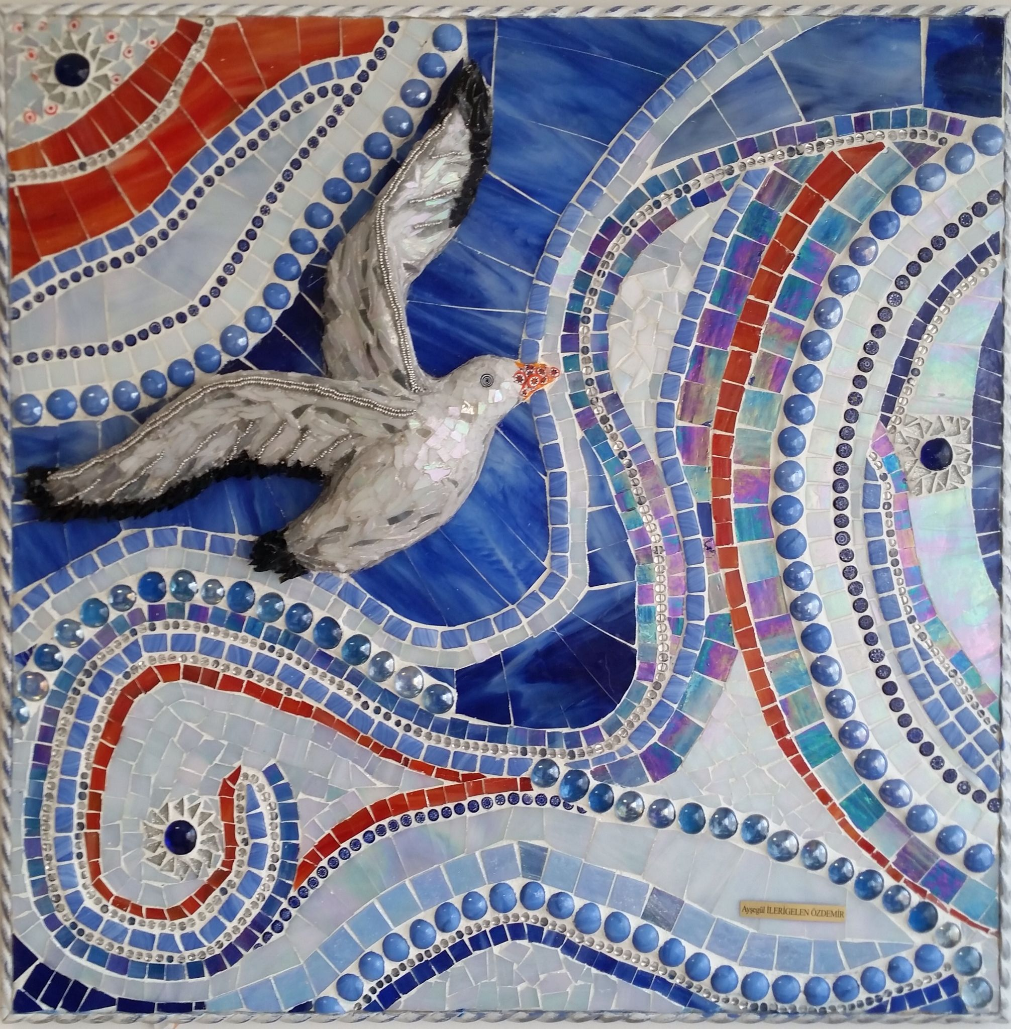 My mosaic work 55*55