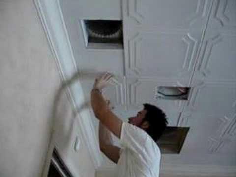 Line Art Styrofoam Ceiling Tile 20 X20 R 24 Styrofoam