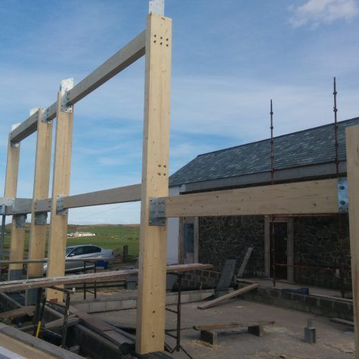 Pergola Design Ireland: Feature Truss Ireland / Northern