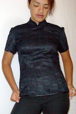 Blusa estilo oriental