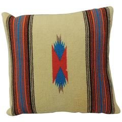 Vintage Navajo Style Indian Pillow