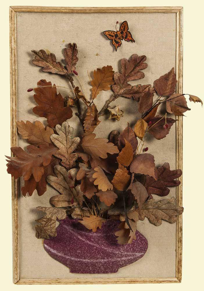 Поздравления, открытки из природного материала на тему осень