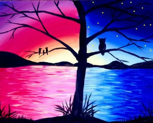 Image result for owl acrylic painting ideas miniatura - Ideas para pintar cuadros ...