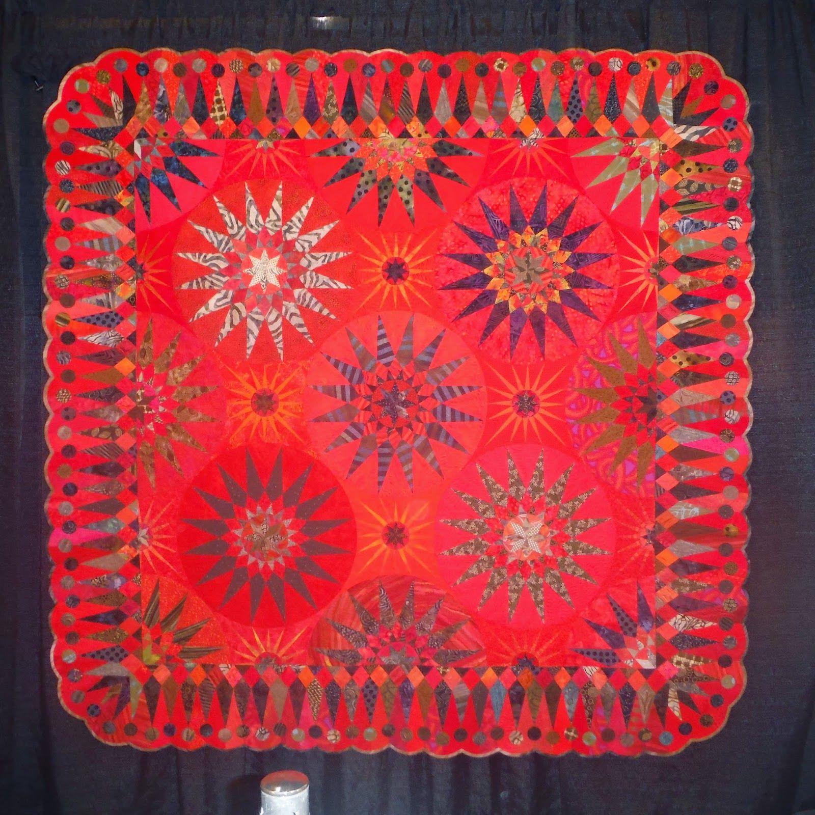 Quilt by Karen Stone Pine Mountain Quilt Studio