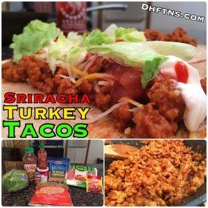 Sriracha TURKEY Tacos Recipe