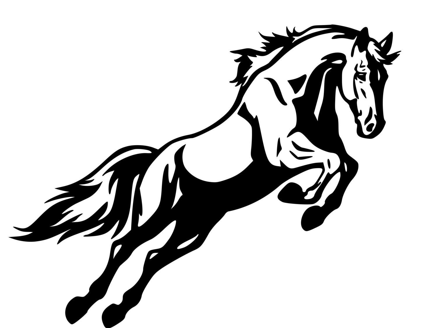 Cool Horse Jumping Coloring Pages 73 Horse Decal Horse Jumping