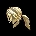 Kitty Ears Roblox Avatar Ponytail Hair Dan Blonde Ponytail