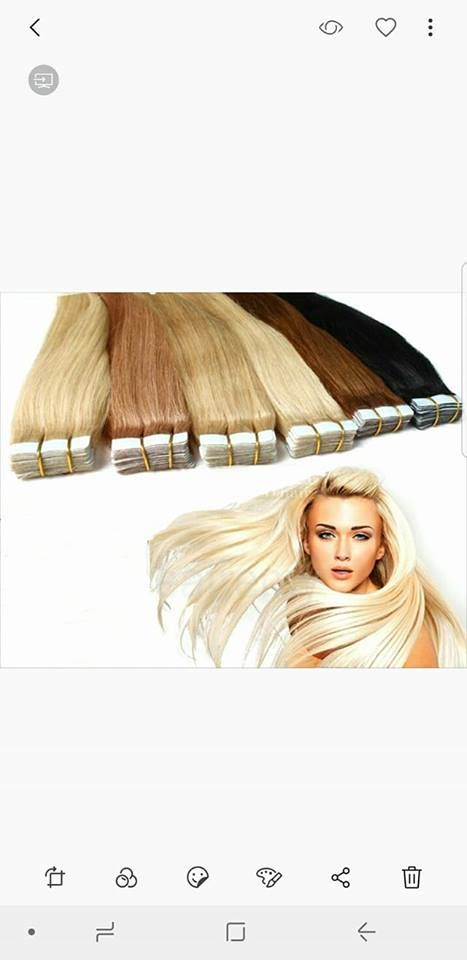 Brazilian Remy Tape In Hair  #humanhairextensions