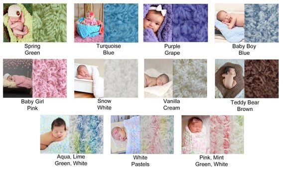 Photo of 11 colors baby girl blanket soft fluffy chunky crochet knit wrap cute baby shower gift for babies newborn photo props crib bedding purple