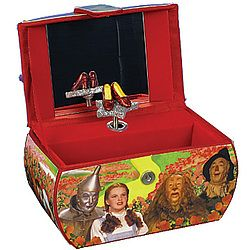 Wizard Of Oz Purse Musical Jewelry Box Were Off to See the