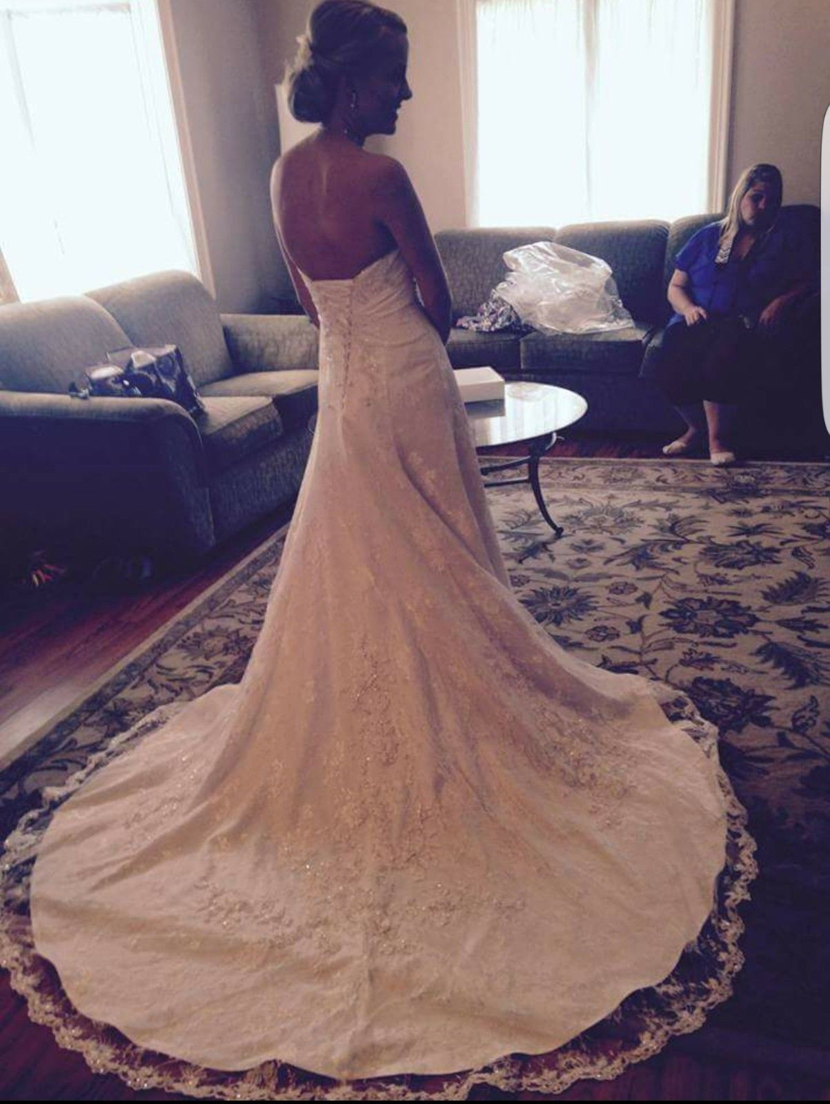 Size 6 wedding dress  Alfred Angelo size  wedding dress  Wedding dress accessories