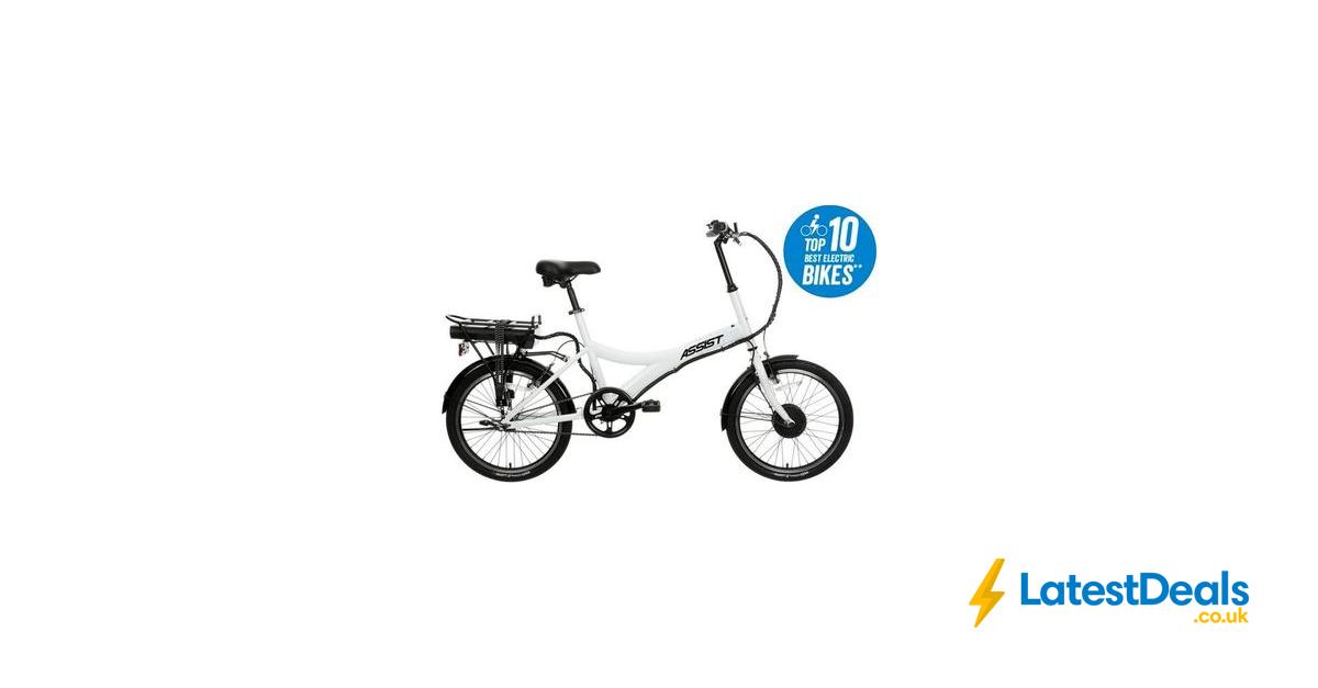 Save 50 Assist Hybrid Electric Bike 20 Wheel 449 At Halfords Hybrid Electric Bike Electric Bike Bike