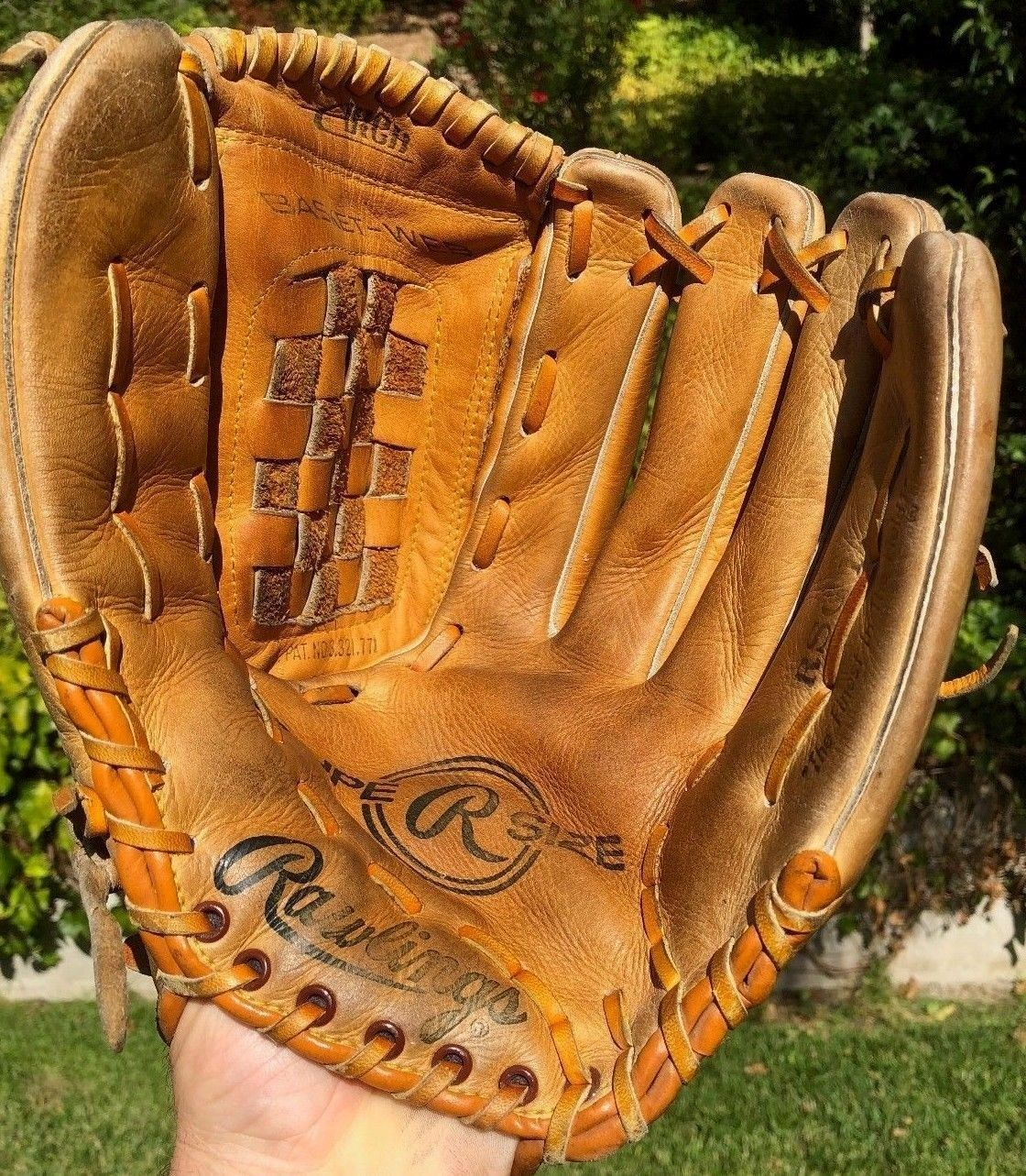 120 Rawlings Supersize 13 5 Pro Premium Leather Baseball Softball Glove Mitt Ebay Link Softball Gloves Baseball Softball Gloves Mitts Leather