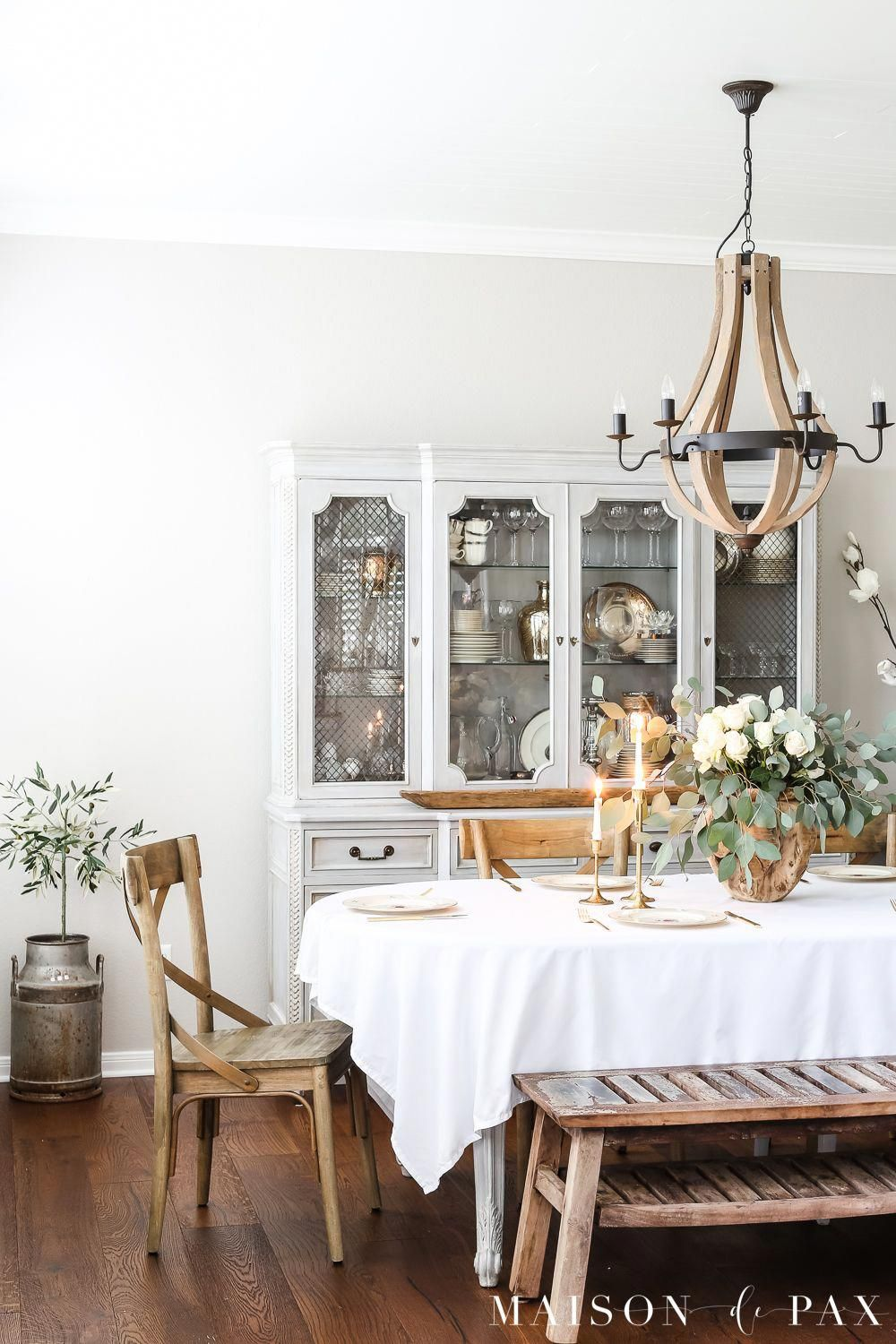 gorgeous french country dining room with a romantic rose and rh pinterest com