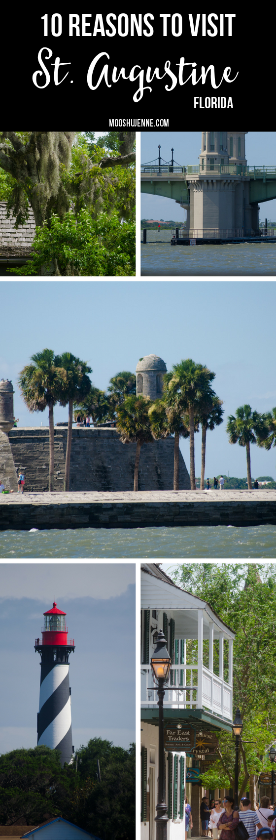 The history of St. Augustine captured our attention on Travel channel when they spoke about the Castillo. My love for everything pirate I knew we had to visit. Below is an account of what we did see and enjoyed in St. Augustine. via @mooshujenne