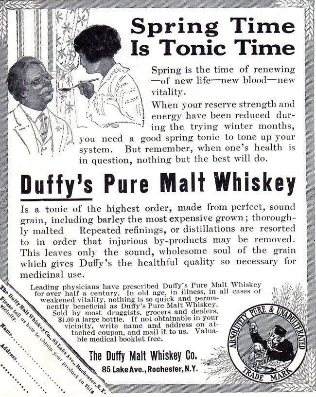 Duffy's Pure Malt Whiskey -1914