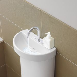 Savewater.com.au   Caroma Profile™ Toilet Suite With Integrated Hand Basin