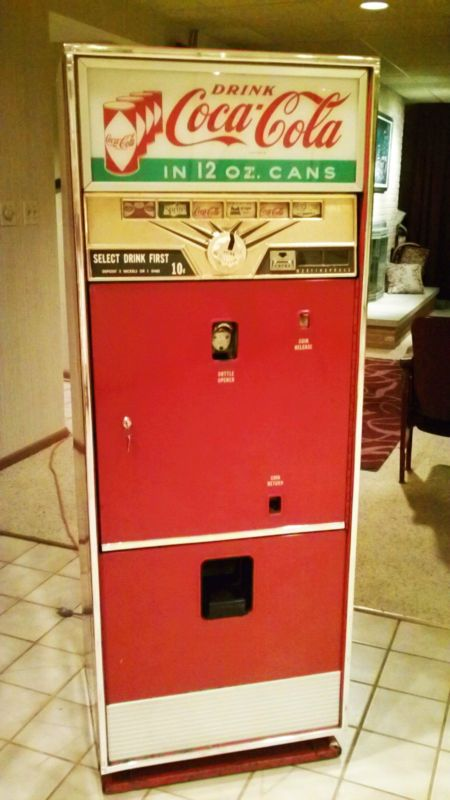 westinghouse wc 78 coke coca cola machine very rare diamond can marquee sign coca cola. Black Bedroom Furniture Sets. Home Design Ideas