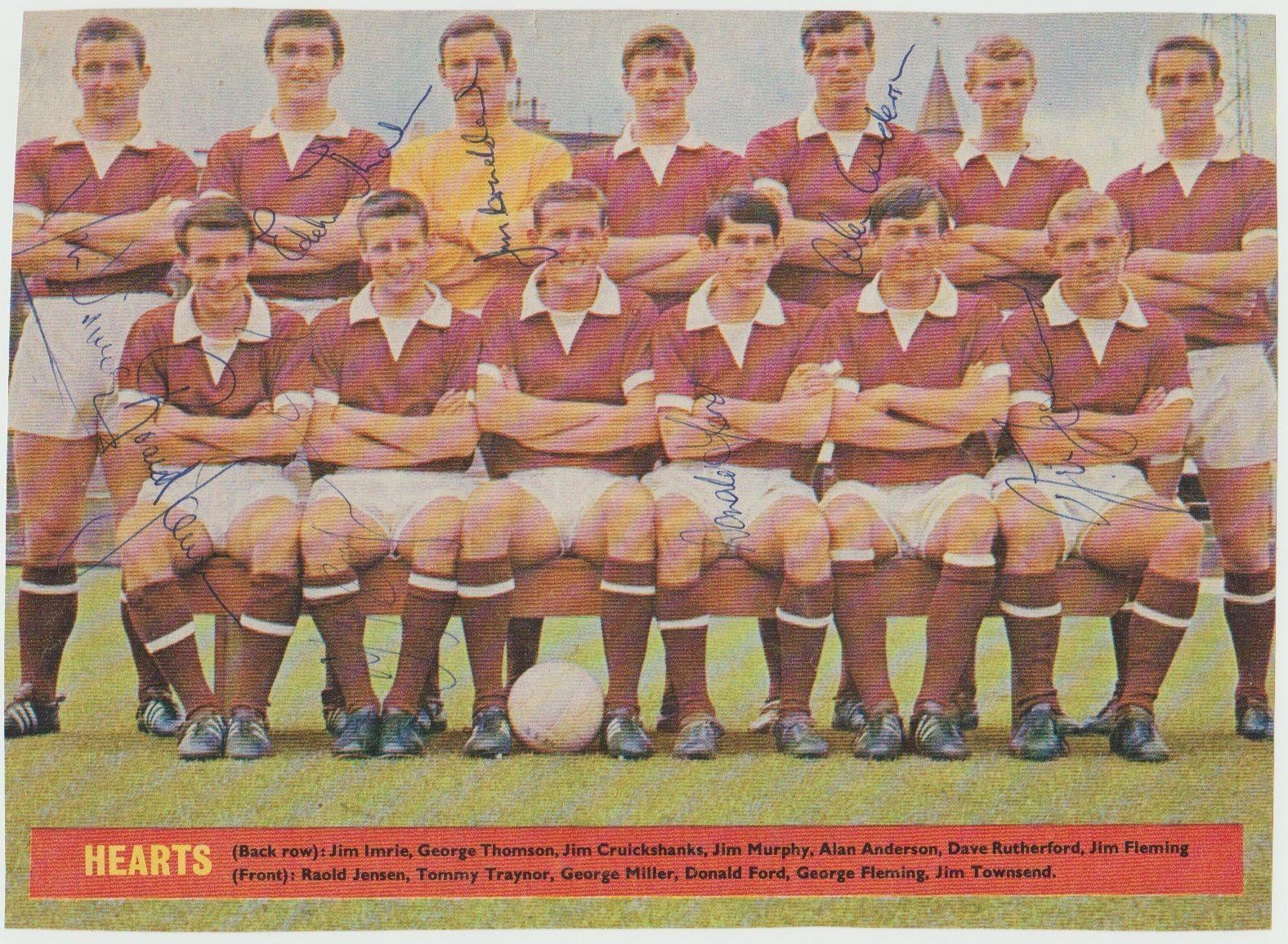 Hearts 1967-68