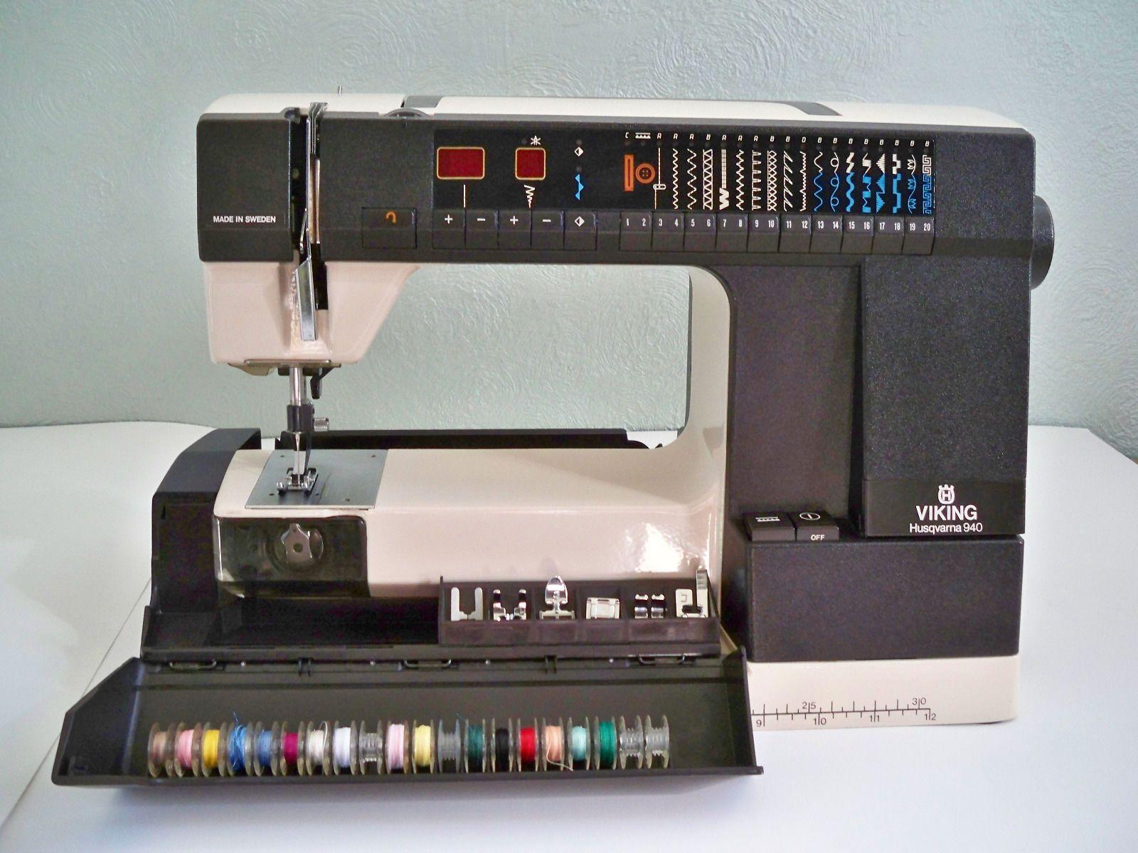 Husqvarna Viking 940 sewing machine | eBay