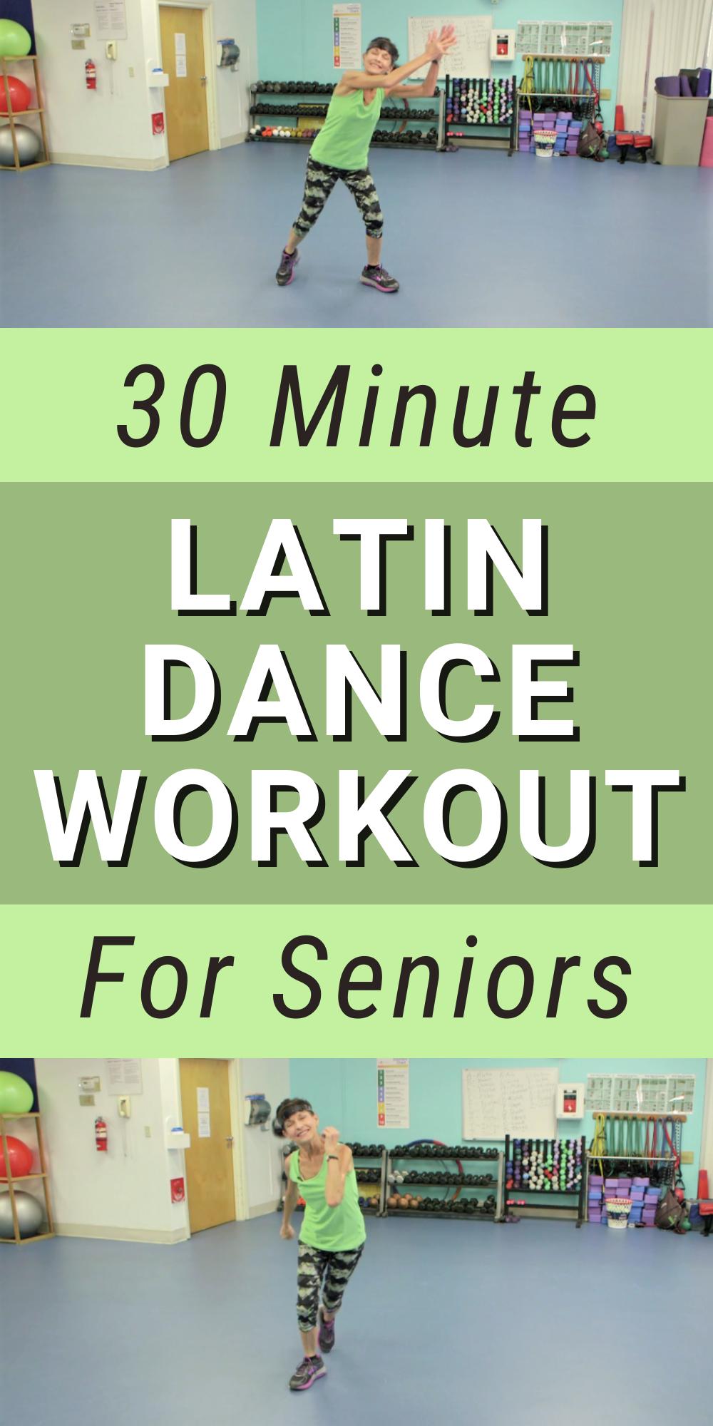 Latin Dance Workout for Seniors