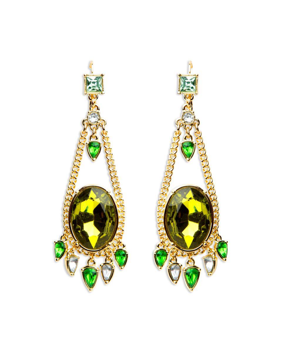 Jungle jewel earrings stylemint jeweled earrings