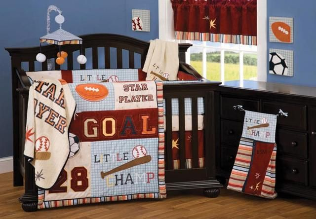 Baby Boy Sport Crib Set Image Http Www Rizvilia Sports