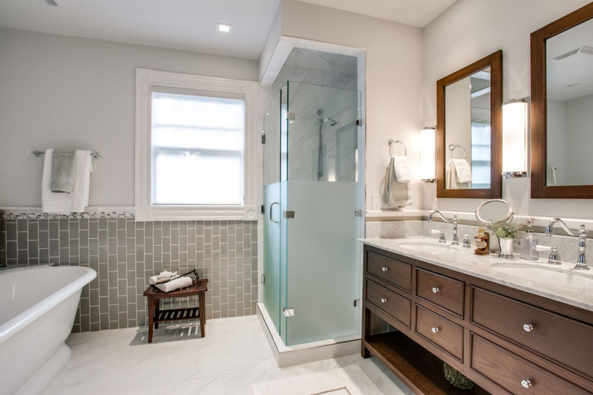 Images Photos Houzz Bathroom Lighting Contemporary with Wood Cabinets Traditional Bath Towels Home Decor Pinterest Traditional Wood cabinets and Bathroom
