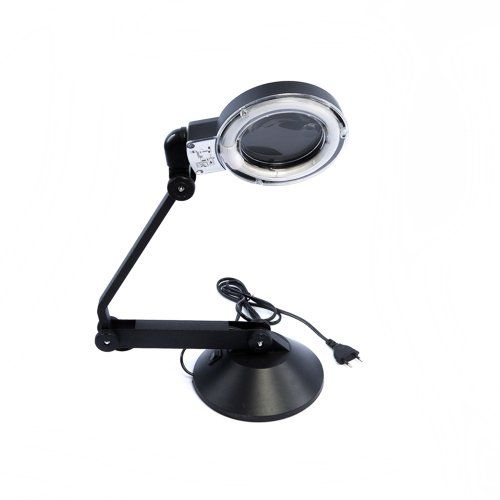 High Grade Quality Compact Desk Top Table Magnifier Magnifying Glass with - Click image twice for more info - See a larger selection of magnifying lamp at http://tablelampgallery.com/product-category/magnifying-table-lamps/ - home, home decor, home ideas, gift ideas, lighting