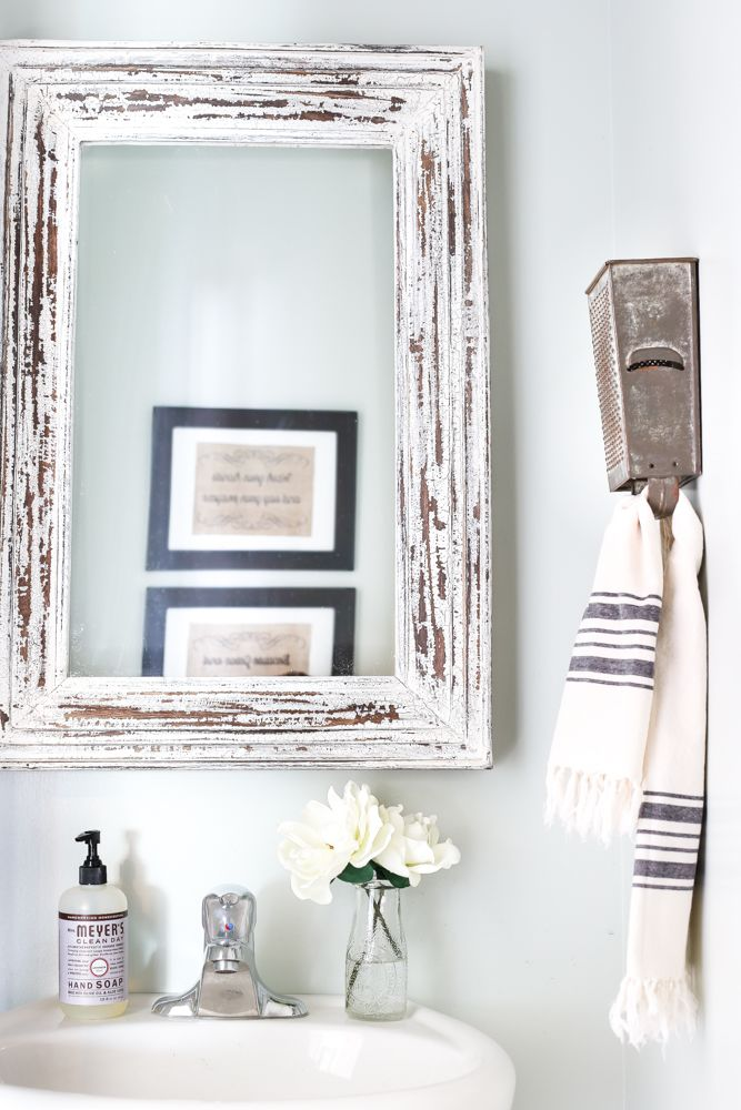 Box Grater Towel Rack + A Touch of Farmhouse Charm | Antique boxes ...