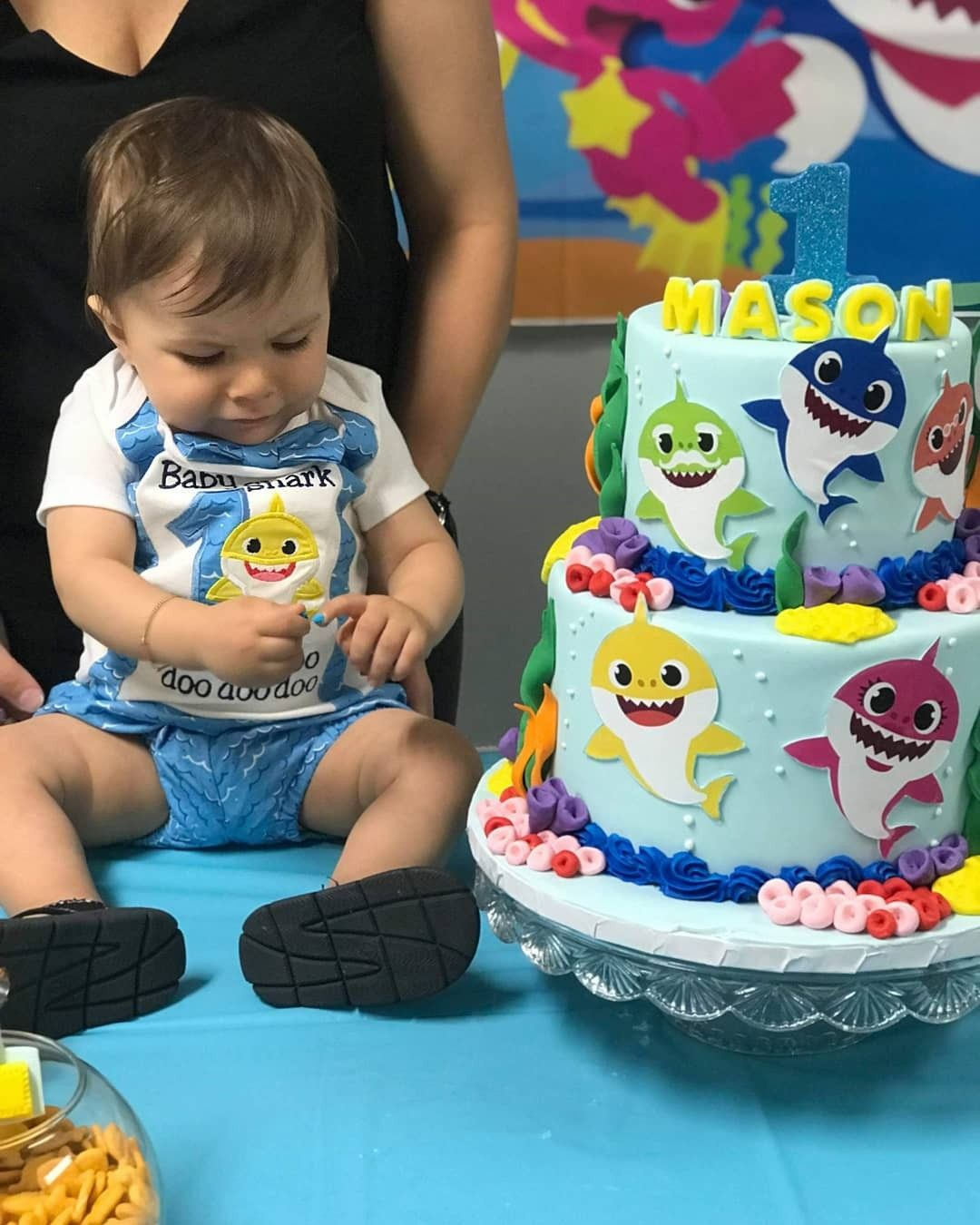 Pin by Diana Oliveira on Baby shark Baby boy 1st