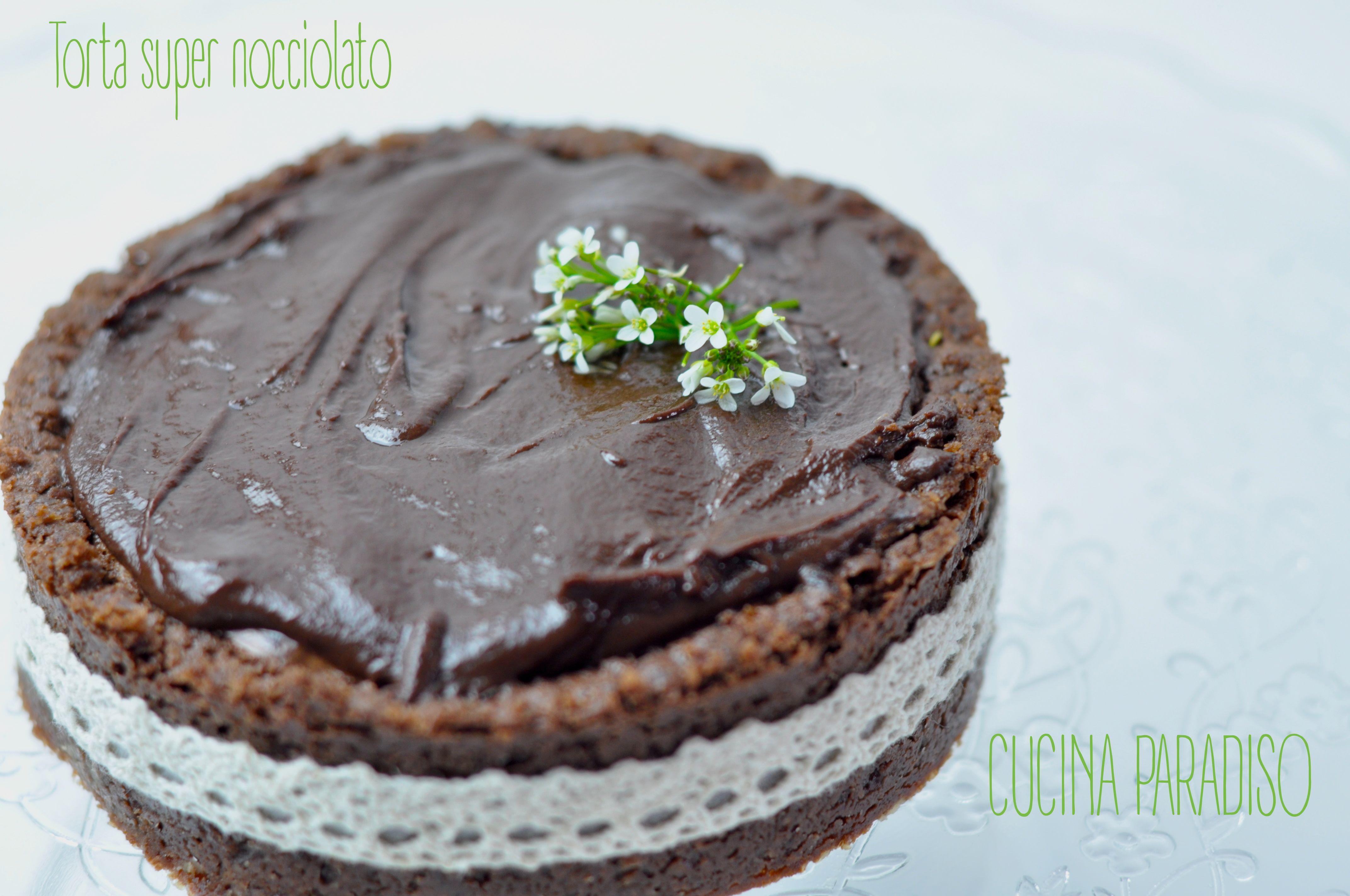 TORTA CIOCCOLATO FONDENTE E NOCCIOLE - DEEP-CHOCOLATE NOCCIOLATO #cucinaparadiso #cioccolato #nocciole #frolla #fondente #chocolate #pastry #lnut