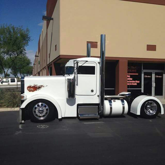 Custom Single Axle Trucks : Single axle priceless petes pinterest trucks big