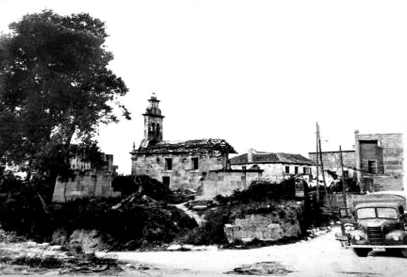 A desaparecida igrexa de San Martiño. Coia