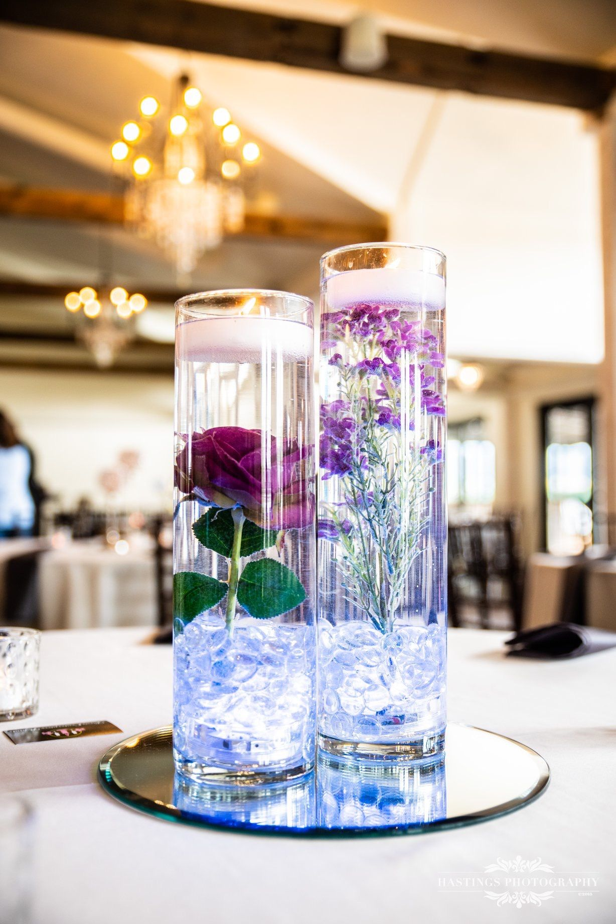Pinterest & Glass vase filled with water lights up! | Wedding ...