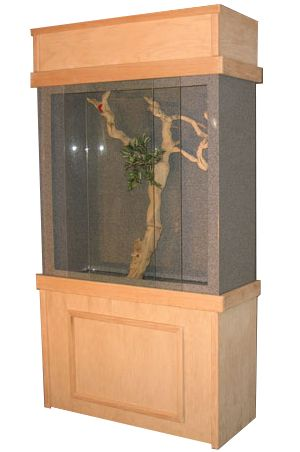 Reptile Cages - Extra Large Pro-Series Acrylic and Plastic Reptile Enclosures