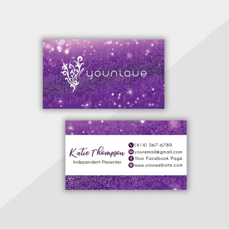 Personalized Younique Business Card Younique Business Cards Yq02 Younique Business Cards Younique Business Cards