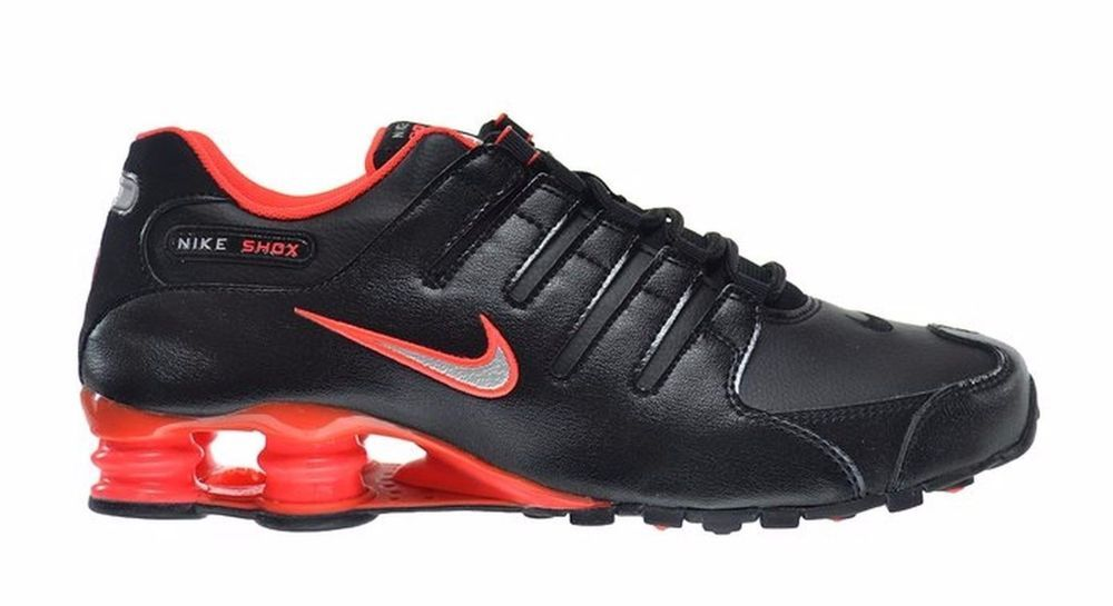 Nike Shox NZ Running Shoes Mens 10.5 Black Bright Crimson Silver 378341 006   Nike  RunningCrossTraining ee35fe36a